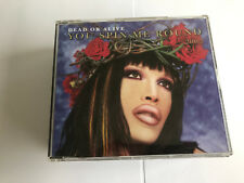 DEAD OR ALIVE - YOU SPIN ME ROUND (RARE DELETED 4 MIX CD SINGLE) PETE BURNS