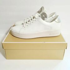 Michael Kors Mindy Lace Up Sneakers Size 9.5M White