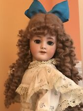 FABULOUS French Antique Tete Jumeau Bisque Head Doll. 21""