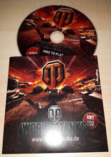 World of Tanks gamescom games Com PROMO CD DVD Extra code tank chars Fan Merch