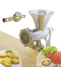 Desk Mounted Manual Meat/Vegetable Mincer Grinder, Biscuit Machine Cookie Maker