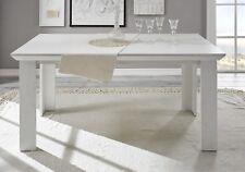 ESSTISCH Tisch WESTERLAND Dekor in Pinie Weiß Landhausstil 6 Plätze Esszimmer