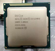 New listing Intel Xeon E3-1240 v2 Processor Sr0P5 3.4Ghz Quad Core Lga1155 Cpu
