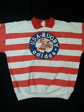 Adidas Vintage Usa Rugby 1980's crewneck sweater