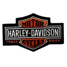 HD Patch Long Bar & Shield SM Harley Davidson Aufnäher Badge Kutte