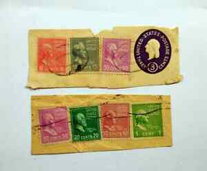 US old used stamps 7 pcs BM120