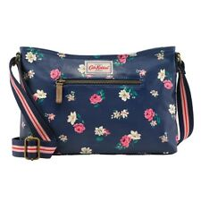 BNWT CATH KIDSTON HAMPSTEAD DITSY ZIPPED CROSS BODY NAVY BAG PINK ROSES FLORAL