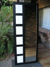 Full Length Wall Mirror & Picture Frame Black Frame 201x72cm FREE SYD DELIVERY