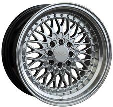 XXR 536 17X9 Rim 5x100/114.3 +25 Silver Wheels Aggressive Fits Tc Xb Rx8 Speed 3