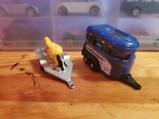 1/64 Die-cast Trailers Majorette (HTF) & Matchbox (Pony Trailer)