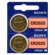 5 - SONY CR2025 LITHIUM CELL BATTERIES - FREE S/H