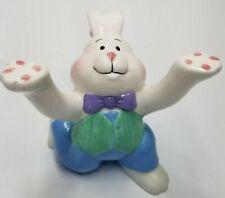 Genuine Sonoma Home Goods Ceramic Bunny Plate Holder Table Decor