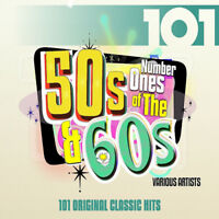 Various Artists : Number Ones of the 50s and 60s CD 4 discs (2015) ***NEW***