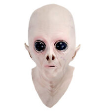 Halloween Creepy Latex UFO Alien Head Mask S1Z5