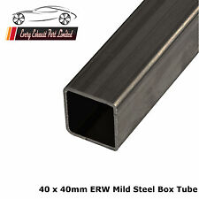 Mild Steel ERW Box 40mm x 40mm x 1.5mm, 5000mm Long, Square Tube