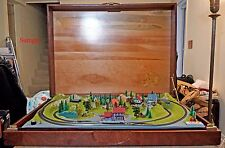 Z Scale Z Gauge Layout NOCH RARE Sonnenalpe Layout w/MARKLIN Track in Wood Case