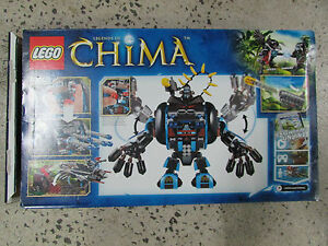BOXED SET LEGO LEGENDS OF CHIMA 70008