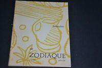 ZODIAQUE / CAHIERS DE L'ATELIER DU COEUR MEURTRY / NUMERO 42 / Allibaudières