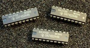 10pcs  X   SN74S244N  Texas Instruments  DIP IC