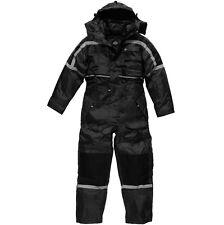 Dickies Wp15000 Bk M Black Waterproof Padded Coverall Medium