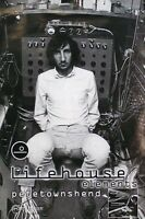 The Who Pete Townshend 2000 Lifehouse Elements Original Promo Poster