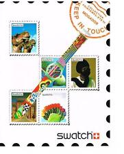 PUBLICITE ADVERTISING  1992    SWATCH   collection montres