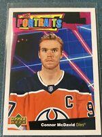 Connor McDavid 2020-21 Upper Deck Series 1 UD Portraits #P-1