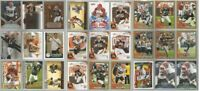 Cleveland Browns 27 card 2010 insert lot-all different