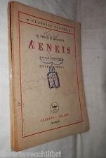 AENEIS Libro V P Vergilii Maronis Guido Vitali Garzanti 1946 Classici Latini di