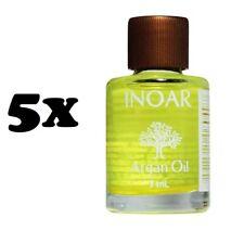 5x Inoar Argan Oil 7ml Hair Shine Vitamin Hydration remove frizz 5 Pack 0.23oz