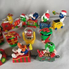 M&M Mars Train Set 20 Piece Tube Toppers Band Members Caboose Engine