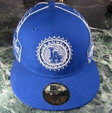 New Era Baseball Cap LA Los Angeles Dodgers 100 dollars cash bleu argent rare!
