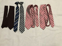 Lot Of 5 Boys Ties Some Are Children's place Brand Very Good Condition