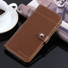Luxury Leather Card Holder Flip Stand Wallet Phone Case Cover For iPhone 7 Plus