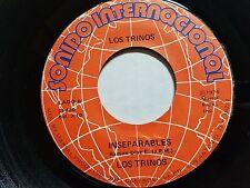 "LOS TRINOS - Inseparables / Que Le Maten Pollo 1974 RARE Latin Cumbia 7"""