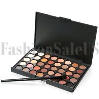 40 Colors EyeShadow Makeup Cosmetics Palette Shimmer Matte Eye Shadow with Brush
