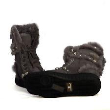 Genuine Australia SHEARERS UGG Boots Rubber Sole Sheepskin Indoor Outdoor Monica