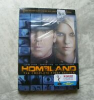 New NOS Sealed Movie DVD-  HOMELAND The Complete First 1st Season TV Show -