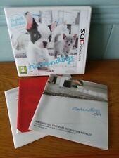 Nintendogs + Cats: French Bulldog & New Friends (Nintendo 3DS, 2011) UK Pal