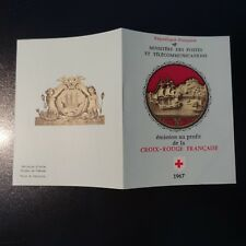 FRANCIA CARNET CRUZ ROJO RED CROSS 1967 Nº2016 NEUF LUXE MNH