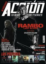 Latest issues!!! rambo sylvester stallone witcher action movie magazine sept 2019