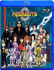 Medabots ~ 1-91 ~ COMPLETE SERIES ~ Blu-Ray, Anime ~ Seasons 1-3 ~ RARE