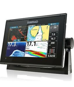 "Simrad GO9 XSE 9"" Plotter HDI Transducer C-Map Discover microSD"