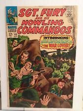 Marvel SGT. FURY AND HIS HOWLING COMMANDOS #45 (1967) John Severin Cover & Art