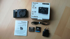 Panasonic LUMIX TZ96 Kompaktkamera - Schwarz - gebraucht