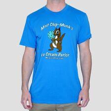 Toddland blue tee t shirt mint chip munks ice cream parlor warwick rhode XL cute
