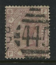 1876 2 1/2d rosy mauve Plate 6 FB with Irish Waterford 445 diamond