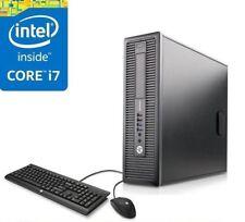 HP EliteDesk 800 SFF Desktop (Intel Quad Core i7 4770, 1TB HDD, 8GB RAM, W10Pro)