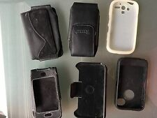 Cell Phone Covers/Cases for iphone 4 & Android etc, similar sizes. Bundle of 6