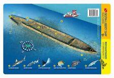 Destin Liberty Ship Florida Panhandle Reef Smart Waterproof Dive Card